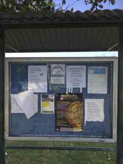 Public Noticeboard Kingsford Smith Park Longueville