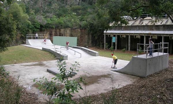 skatepark lane cove