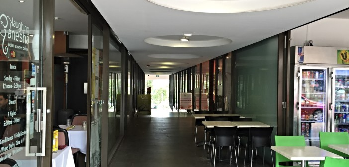 Inside Rosenthal Arcade lane cove