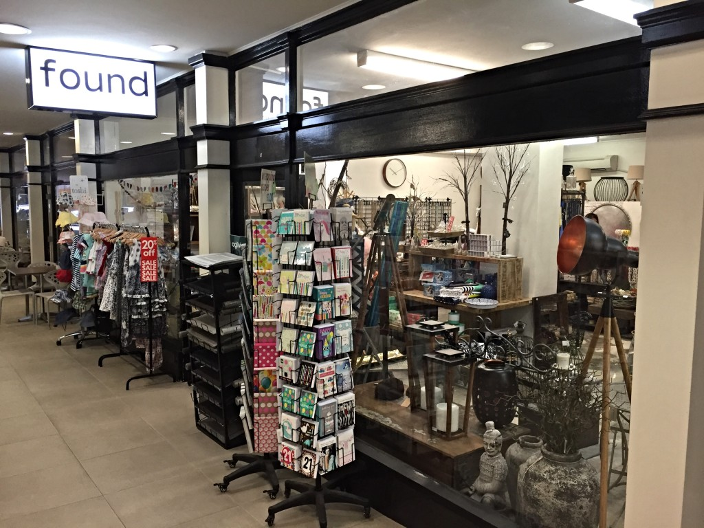 Found gifts and homewares lane cove arcade