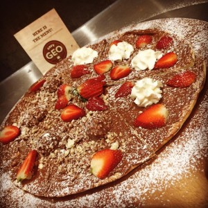 nutella pizza cafe geo lane cove dessert