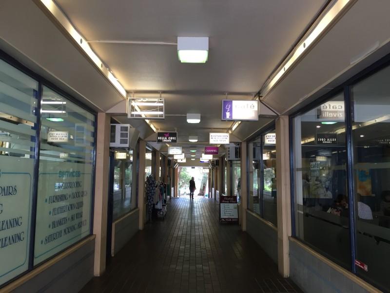 Inside Central Arcade
