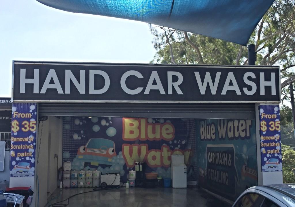 Blue Water Car Wash