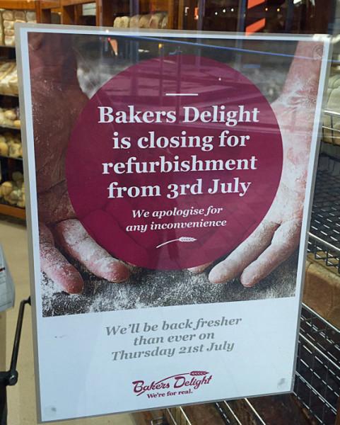 Bakers Delight reno