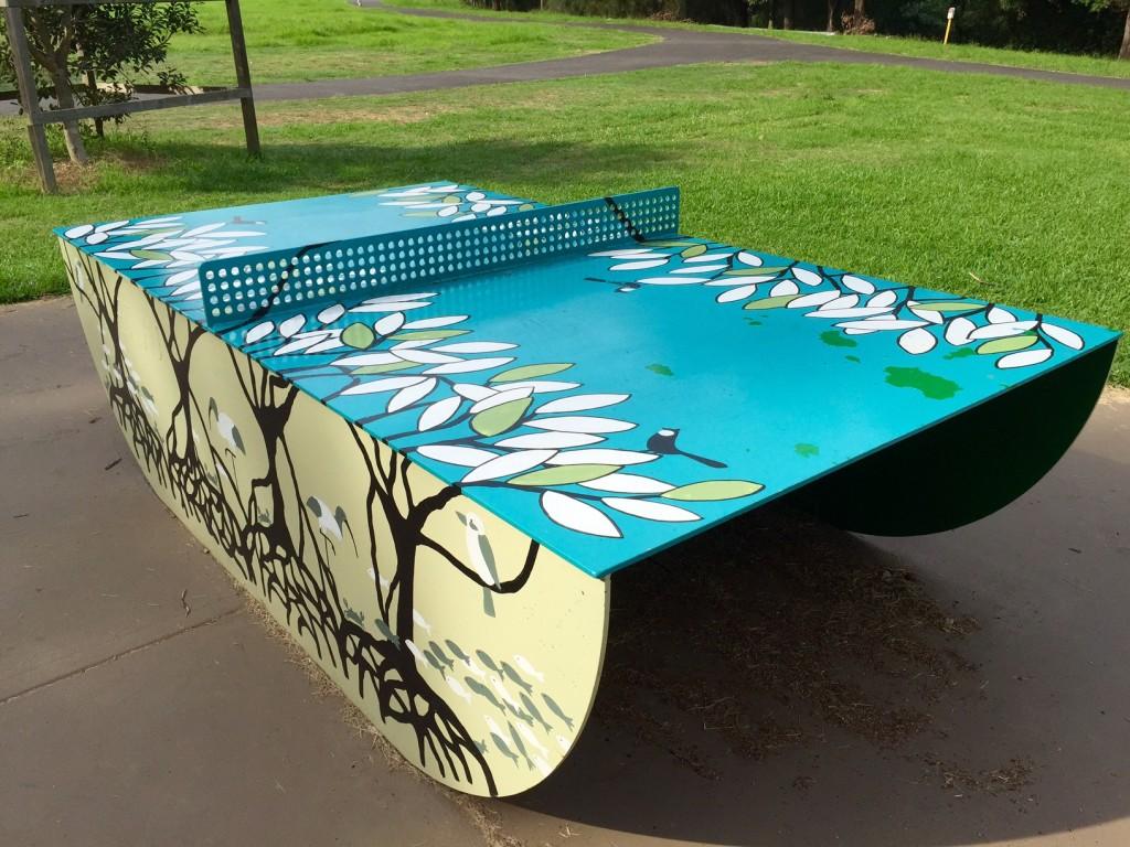 quirky table tennis blackman park