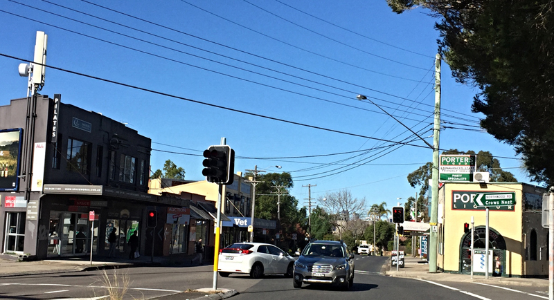 Northwood intersection shops