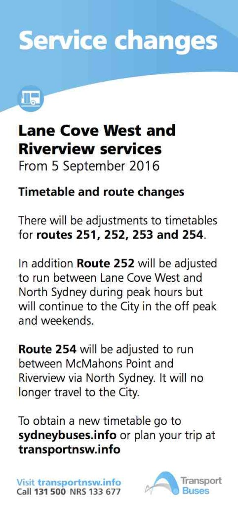 Lane Cove west Sept 2016 flyer