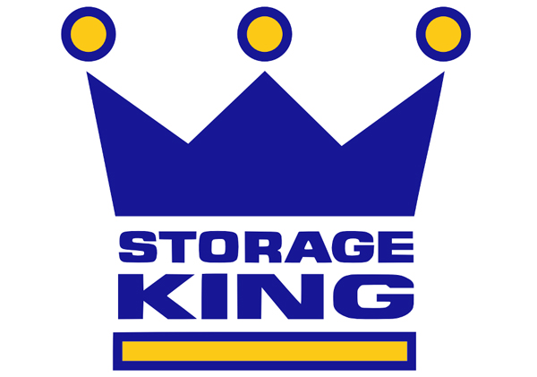 Storage King logo blue