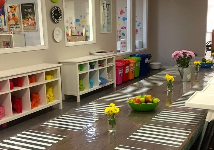 first learning dining room