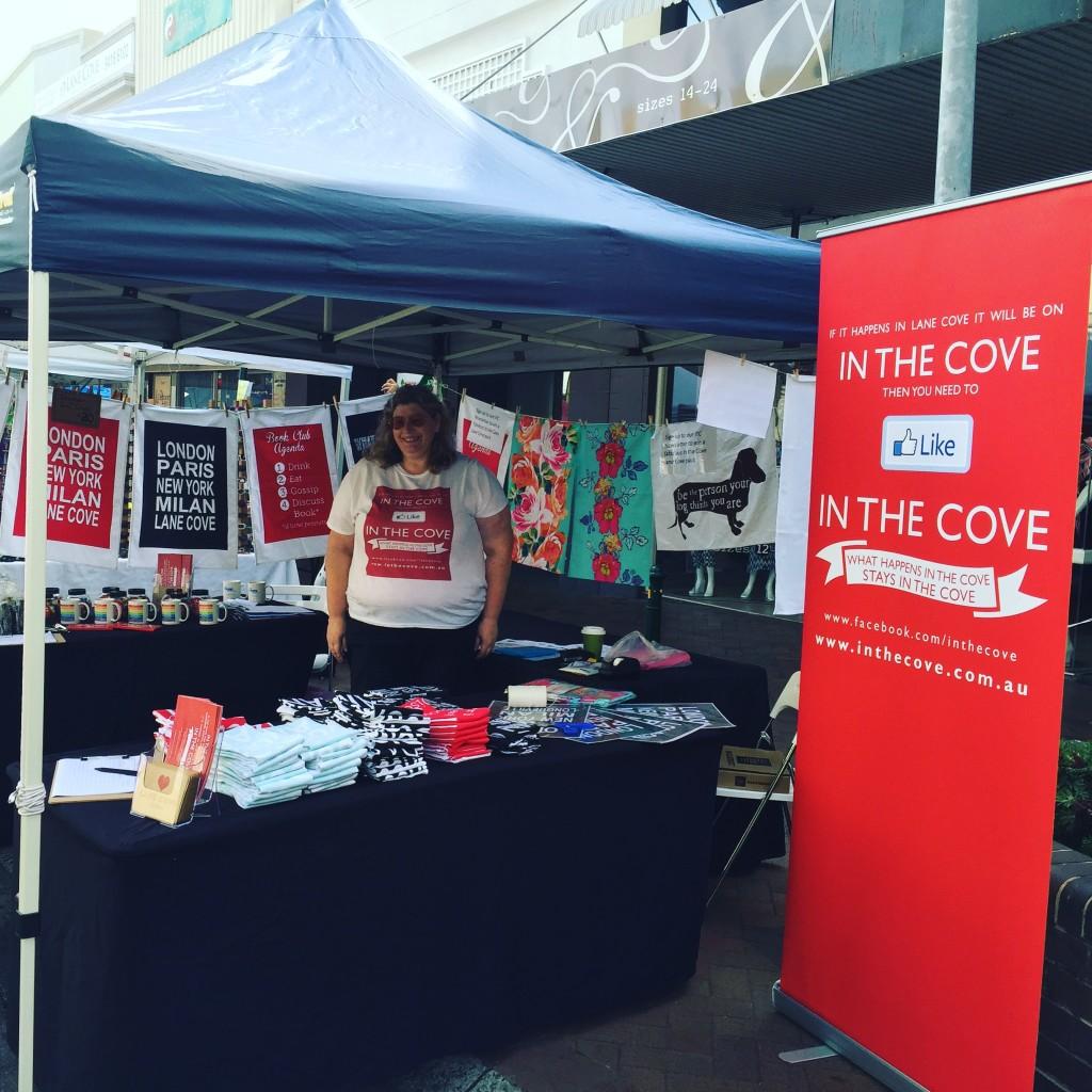 itc stall at lane cove village fair