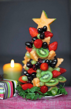 xmas fruit tree