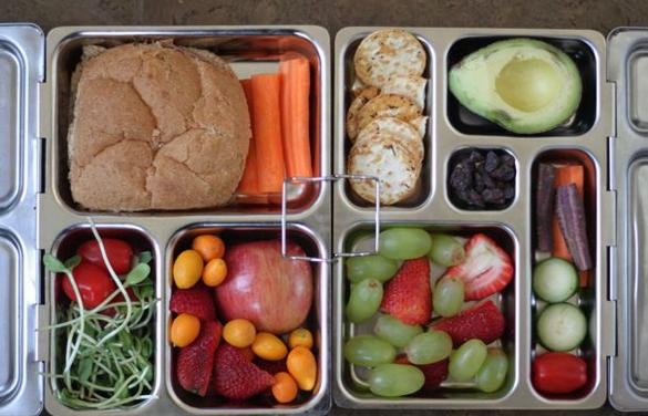 healthy lunch box 1