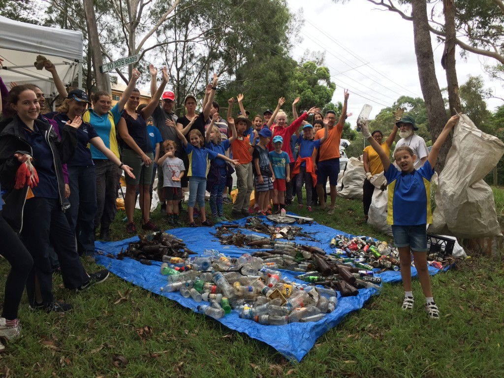 Clean Up Australia Day Event Mowbray Precinct Lane Cove