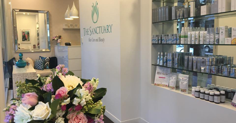 The Sanctuary Skin Care and Beauty 800