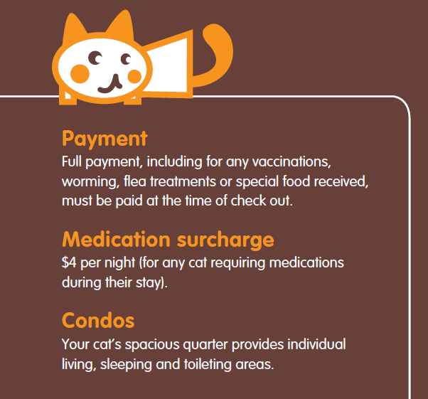 Dr Paws cattery rules