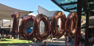 10000 balloons