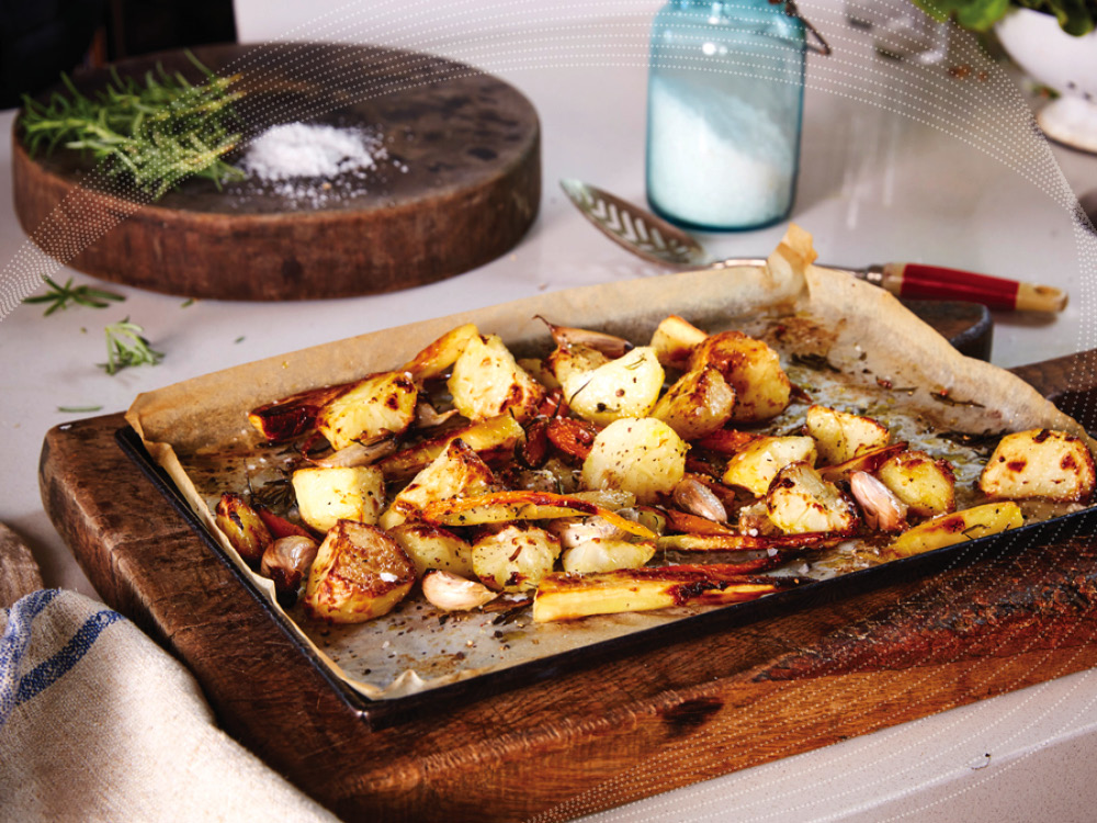 How to roast Root Veggies