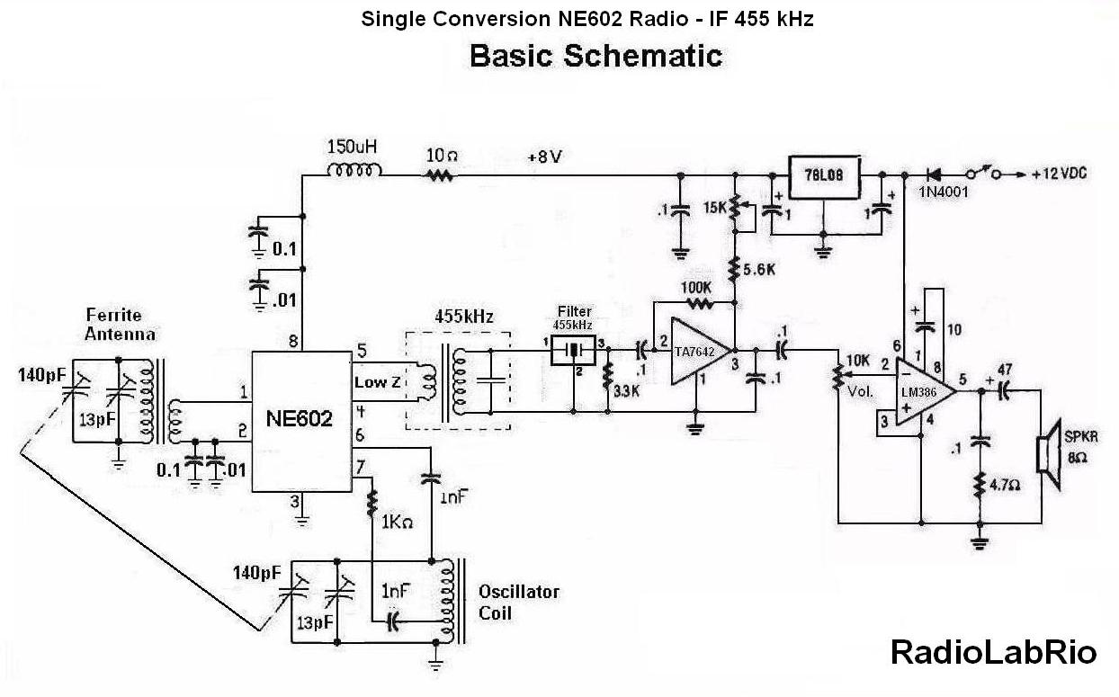 ne602 circuit design