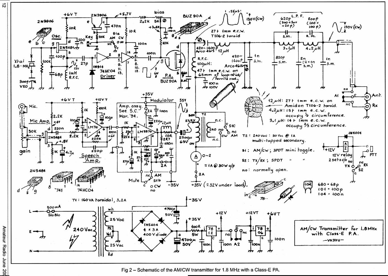1.8MHz transmitter