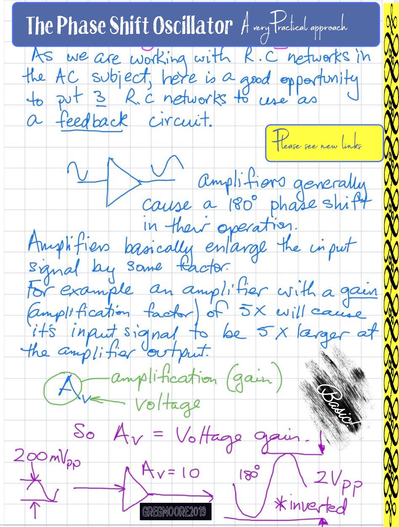 oscillators week 5 notes