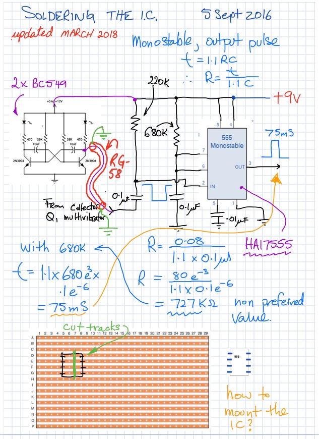 pulse limiter circuit soldering
