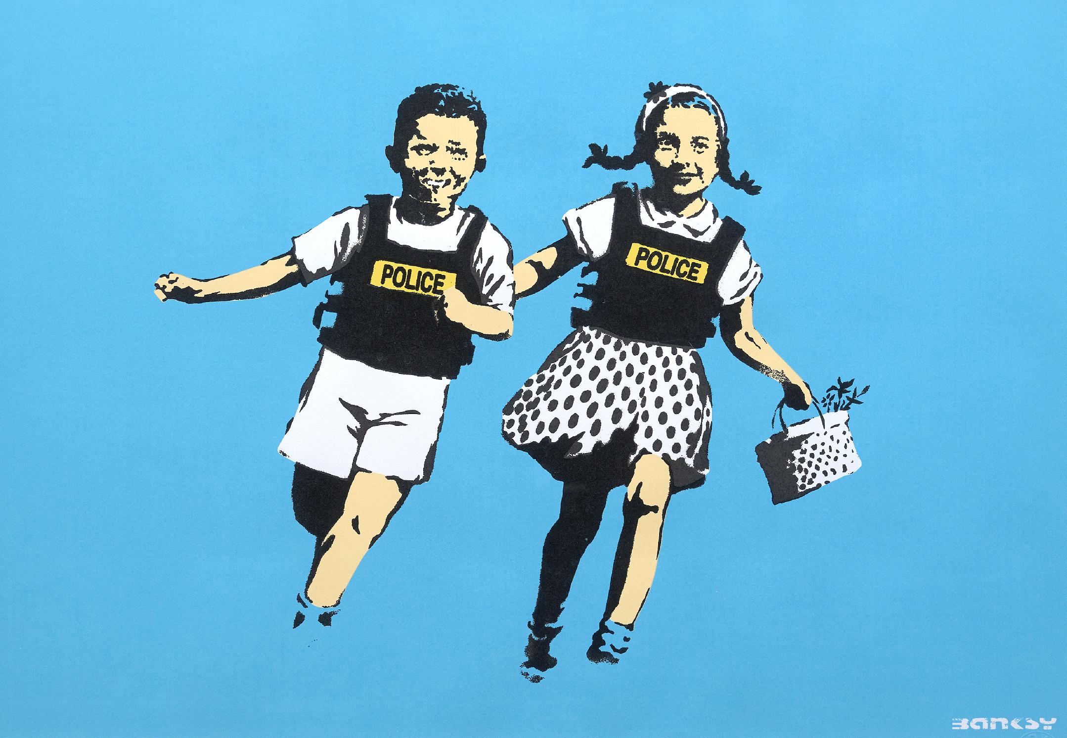 Prints & Multiples Banksy leonard Joel Melbourne