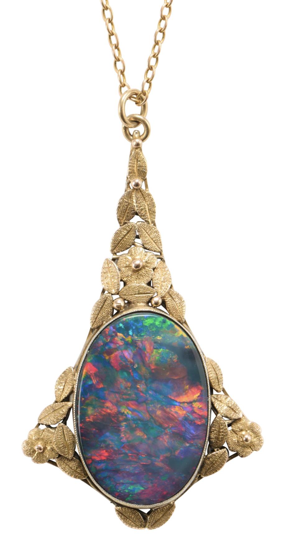 Opal Leonard joel Fine Jewels Auction