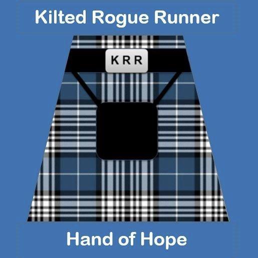 Kilted Rogue Runner logo