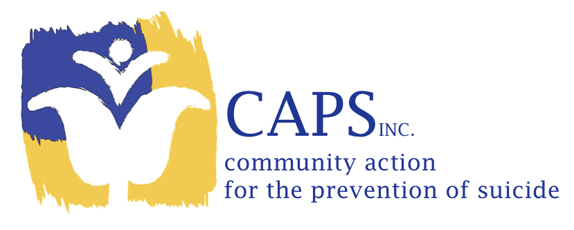 Community action for the Prevention of Suicide (CAPS) Inc. logo