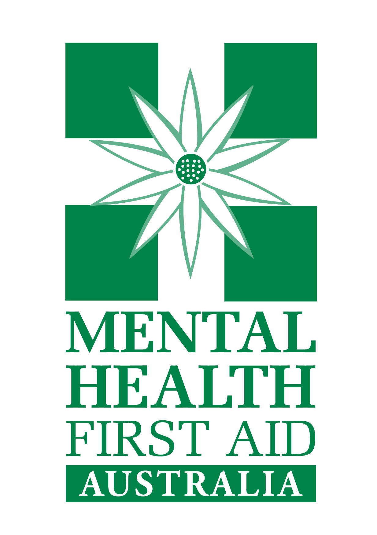 Mental Health First Aid Instructor training courses logo