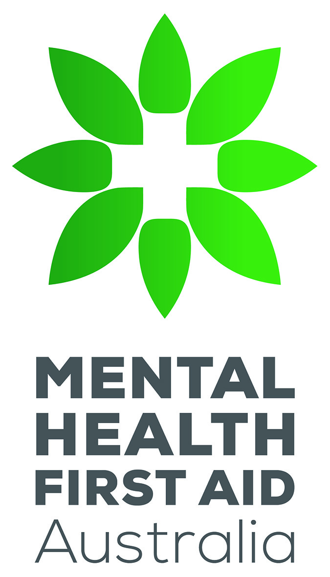 Mental Health First Aid courses for the public logo