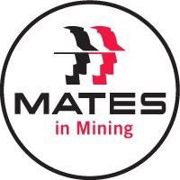 MATES in Mining logo