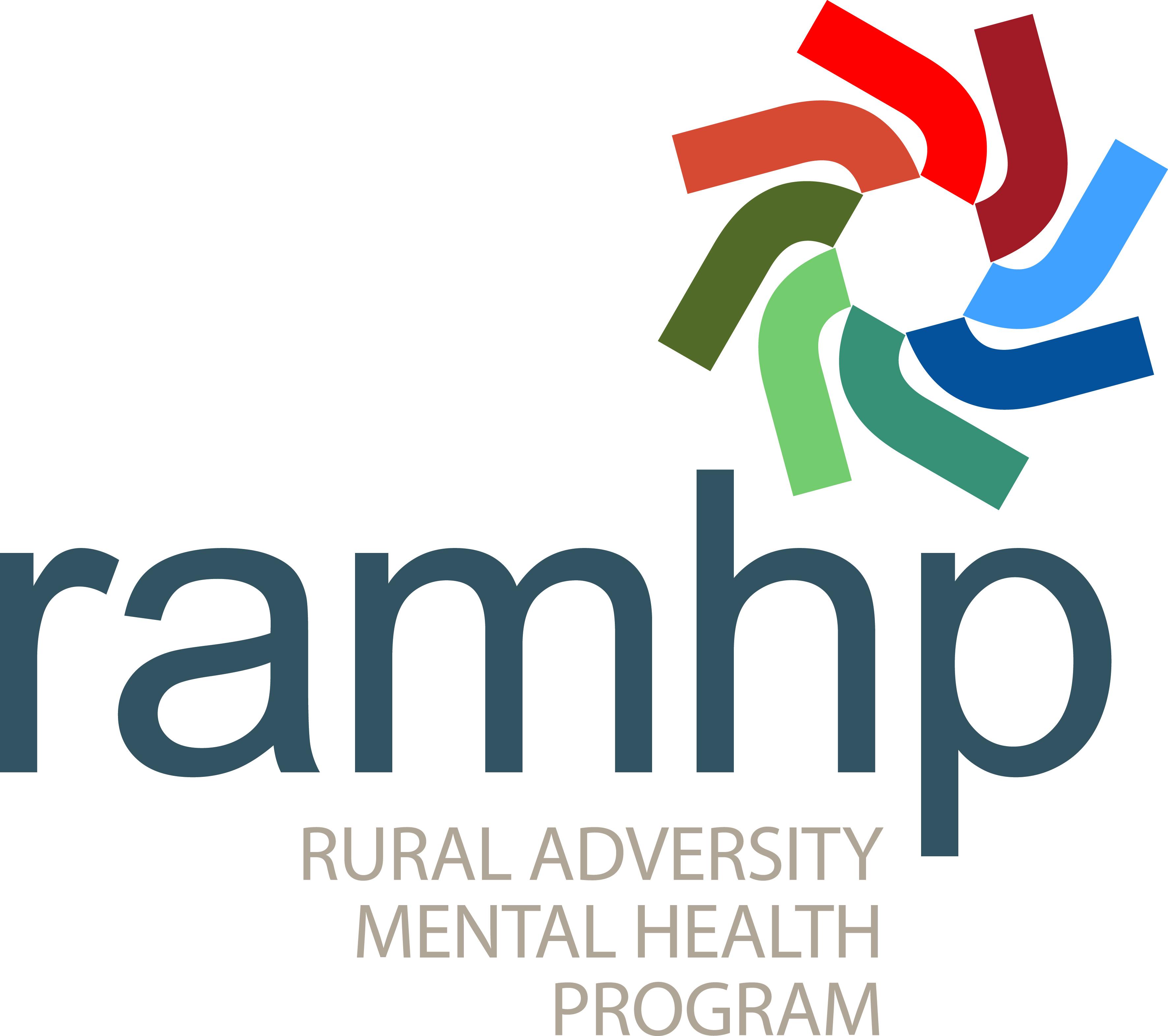 Rural Adversity Mental Health Program (RAMHP) logo