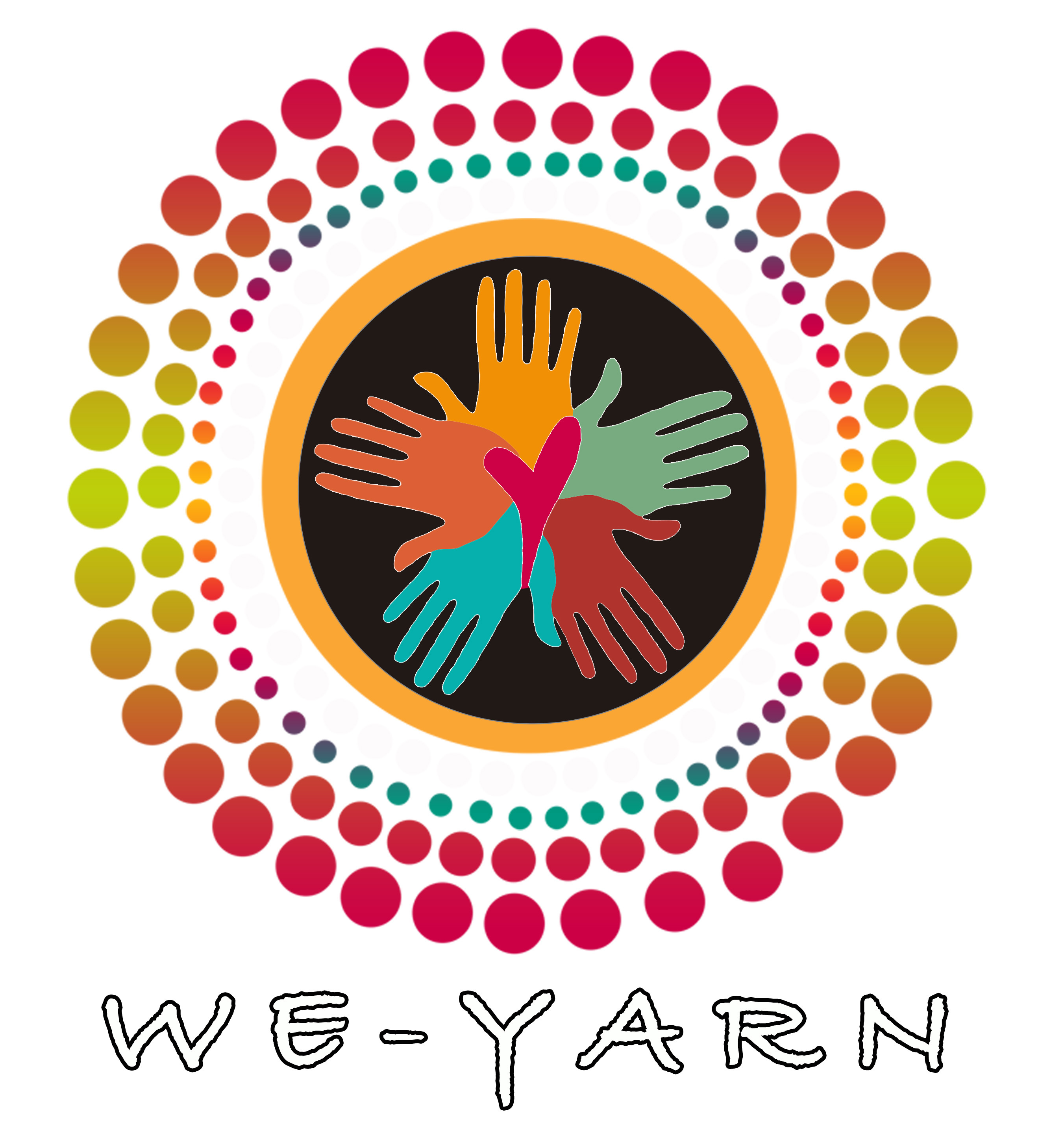 We-Yarn (Aboriginal Suicide Prevention Workshops) logo