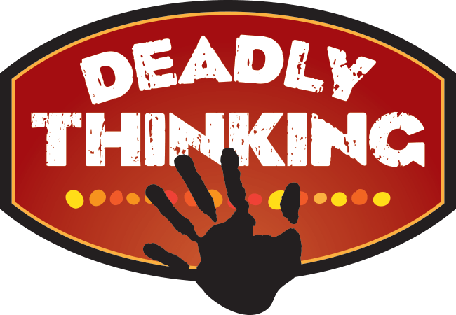 Deadly Thinking logo