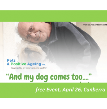 'And My Dog Comes Too' FREE PUBLIC SESSION - 26 April