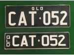 Promotions CAT Personalised Registration Plates