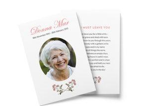 funeral booklet printing sydney