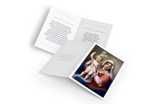 funeral booklet design