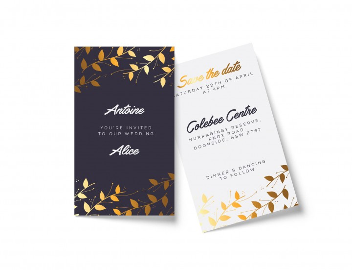 wedding invitations western sydney