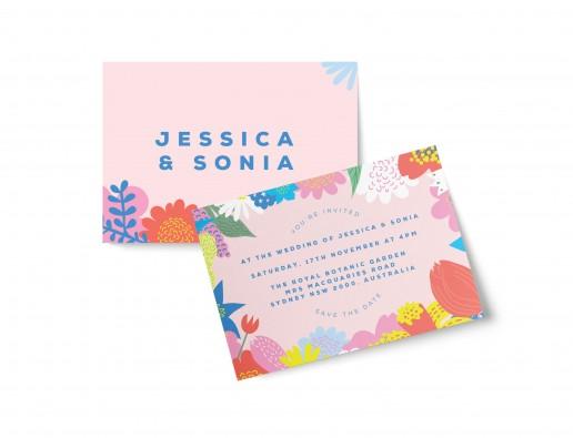 Elegant wedding invitations sydney