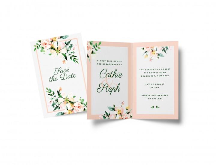 wedding invitations sydney west
