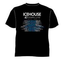 Icehouse Icehouse Official Merchandise Band T Shirts