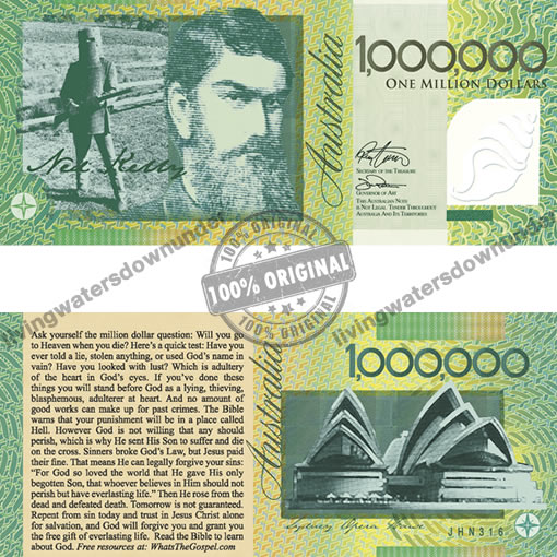 Aussie Million Dollar Note