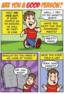 Are you a good person? Comic (100pk)