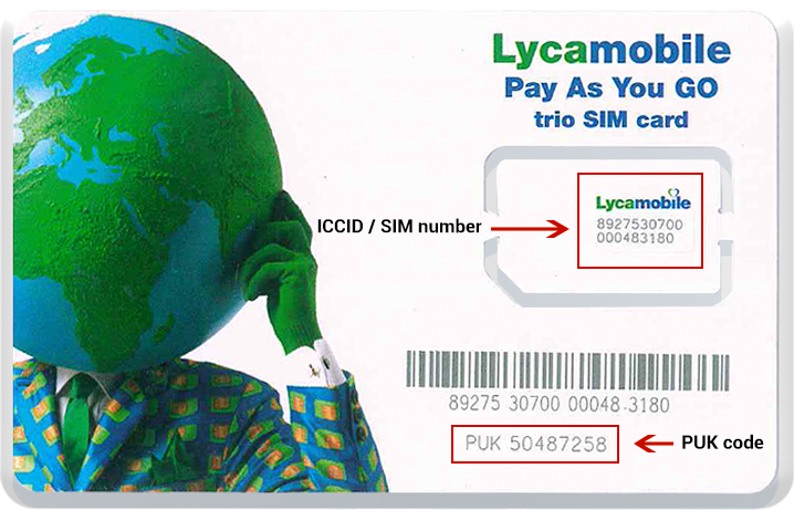 Registration Lycamobile