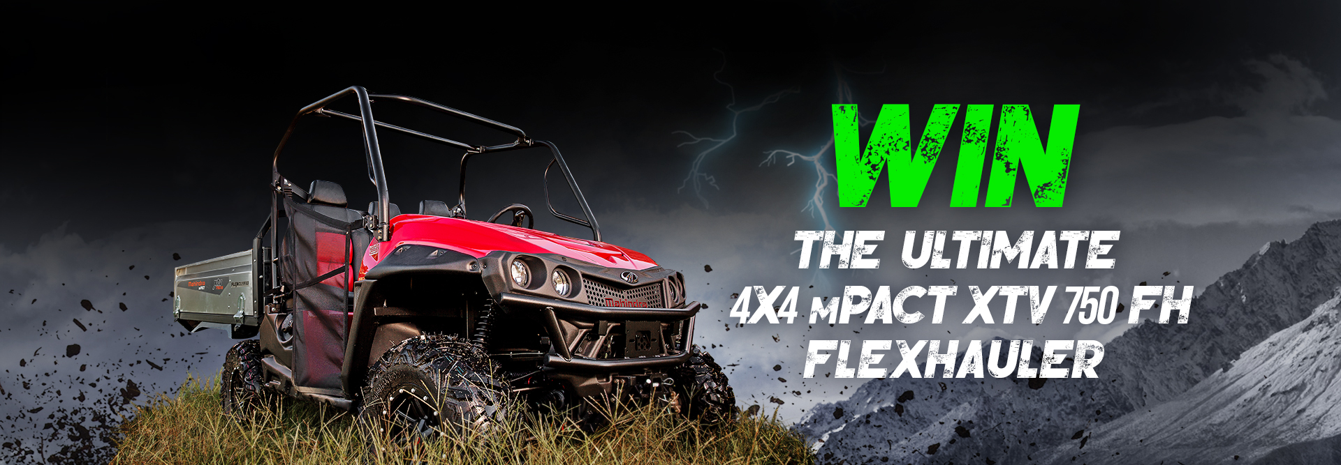 Check Out the Features of this New Mahindra XTV Up For Grabs
