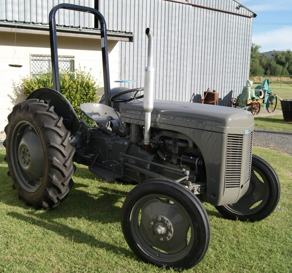 Grey Fergie Restored Tractor