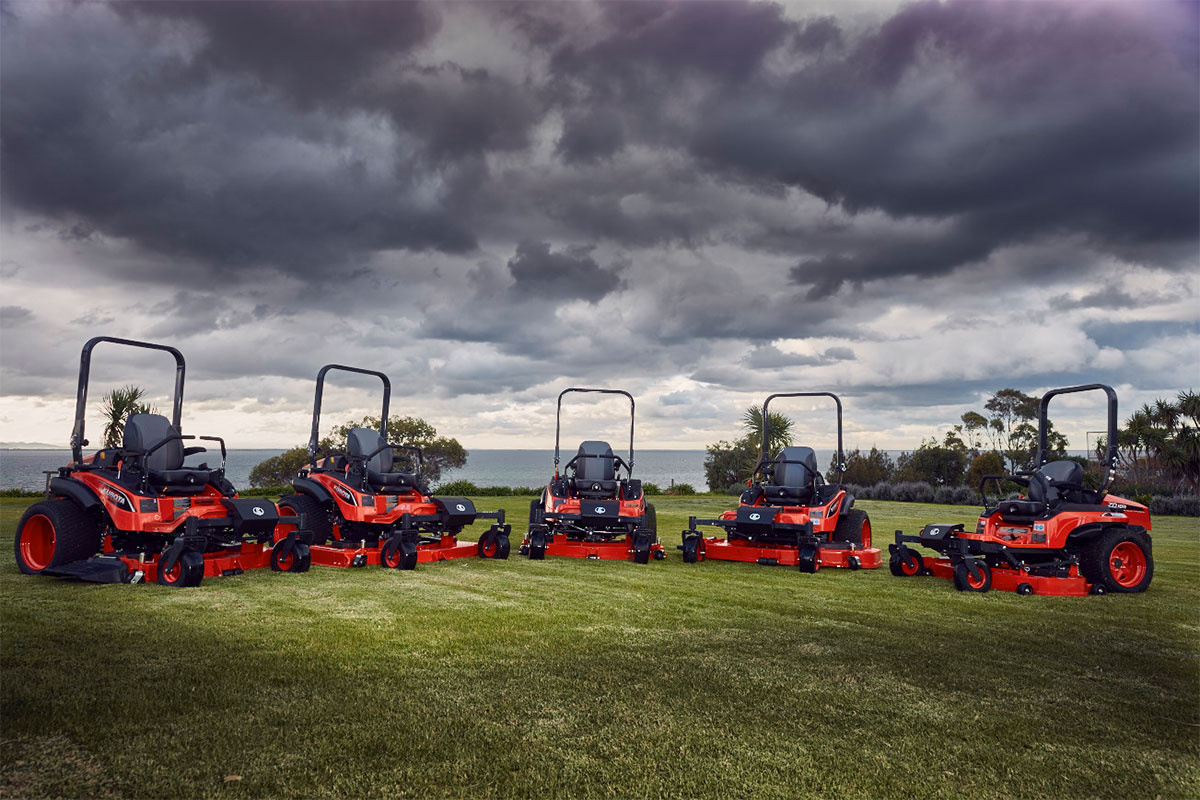 Up Close & Personal: Kubota Zero Turn Mowers