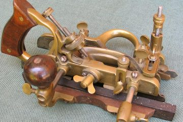 Stanley Brass Copy Gunmetal Combination Plane